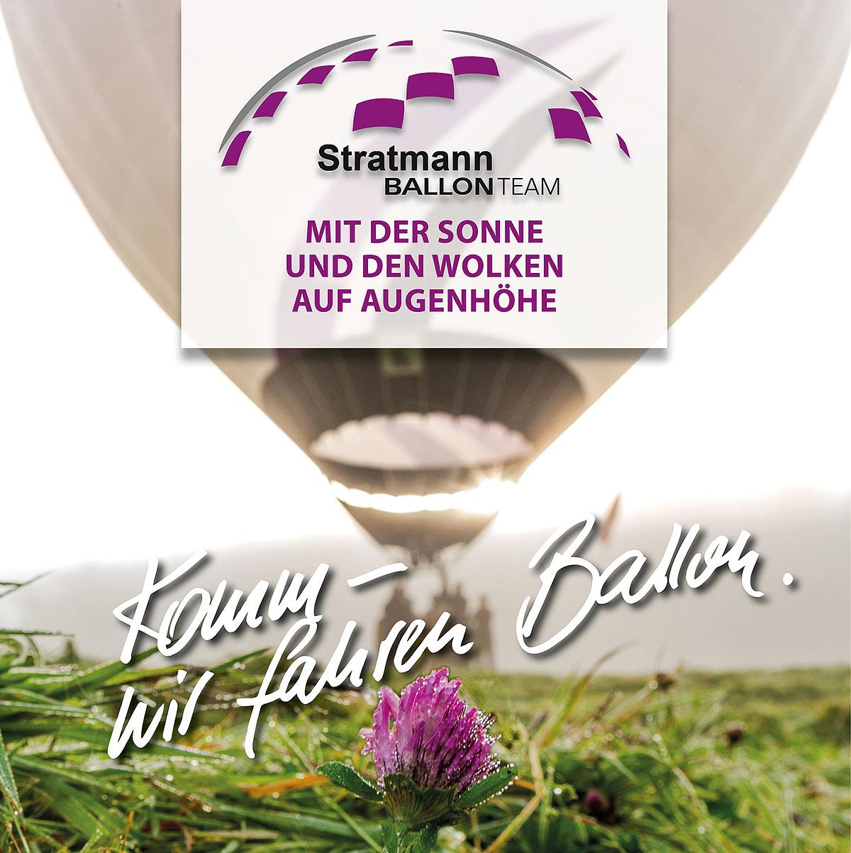 Stratmann Ballonteam Komm wir fahren Ballon im Sauerland, Meschede, Bestwig, Schmallenberg, Winterberg. Ballonfahren mit uns ein besonderes Erlebnis.